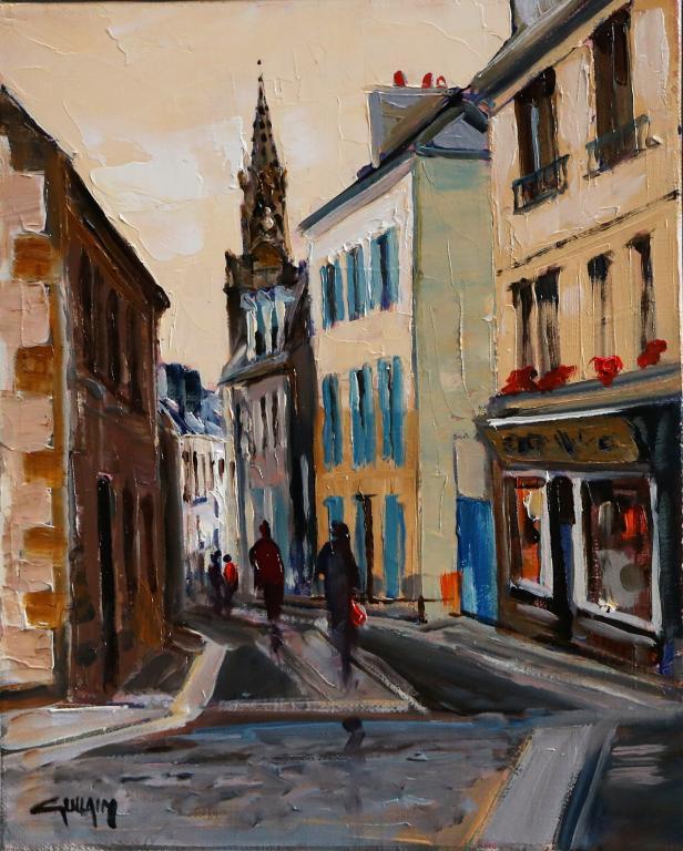 Sainte Hélène, Douarnenez. 22X27 -3F. Bernard GUILAIN.