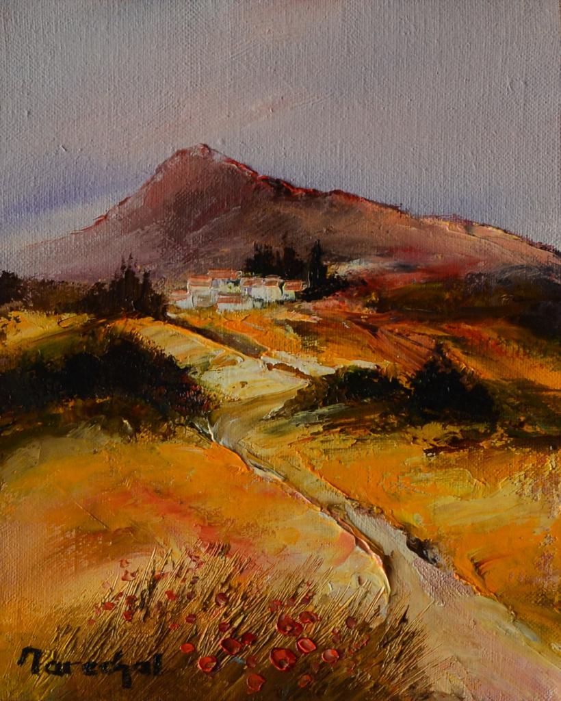 La montagne rousse. (27X22 ;3F) . Francis MARECHAL