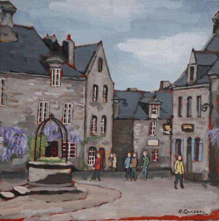 LOCRONAN. (30X30). René QUERREC.