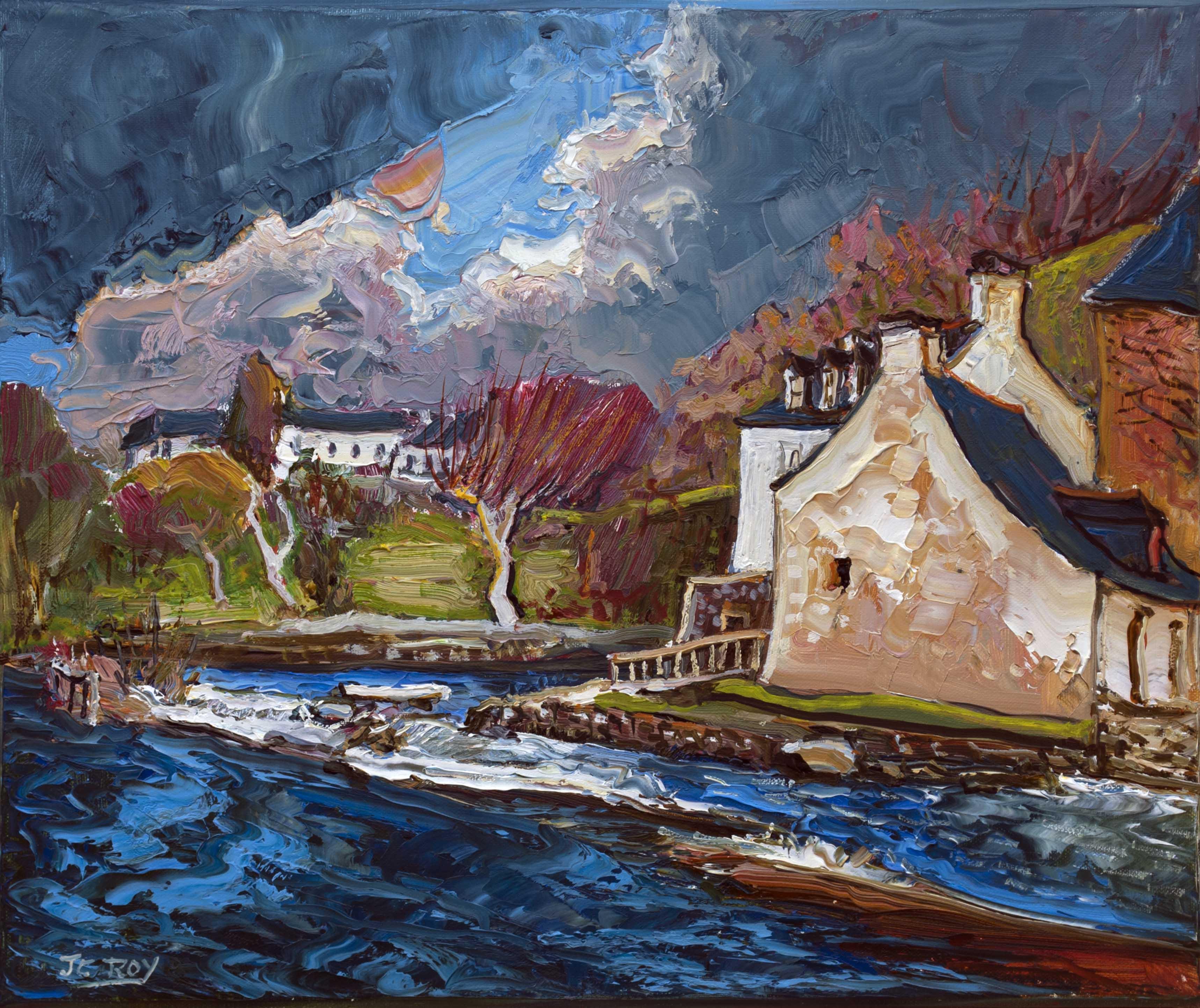 Pont-Aven, Bretagne. 46X38 - 8F. Jean-Claude ROY.